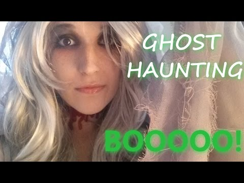 ASMR - GHOST ROLEPLAY ~ First Haunting! Spooking You & Sucking Your Soul! ~