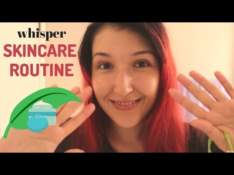 ASMR - SKIN CARE ROUTINE ~ Let's Relax & Revitalize Our Skin! | Whispers, Tapping, Water ~