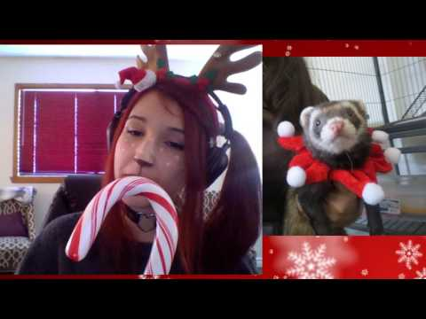 Merry Christmas Stream! HOW LONG CAN I EAT THIS GIANT ASS CANDY CANE?