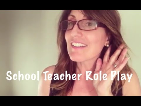 ASMR School Teacher Role Play