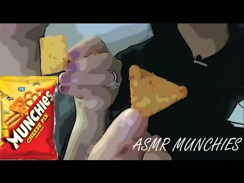 ASMR CRUNCHY SOUNDS : LATE NIGHT MUNCHIES CHIPS & RICE CRACKERS