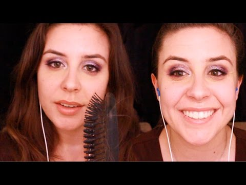 ASMR: French Braids and Bobby Pins
