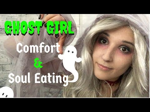 ASMR - GHOST GIRL ~ Miss Spooky Needs Your Help! Comfort & Soul Eating ~