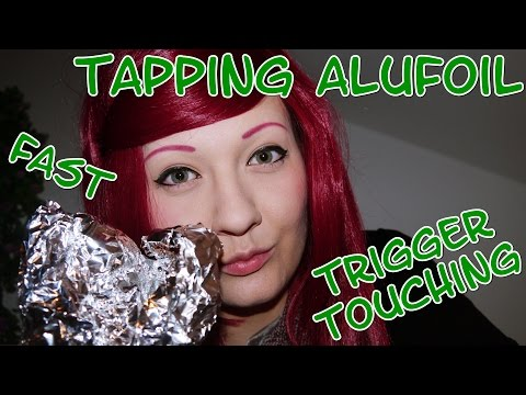 HARMONY ASMR Tapping Alufoil Touching