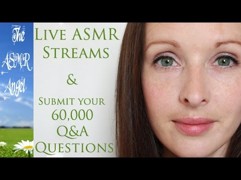 Whispered - My Live ASMR Streams & submit your questions for my Q&A
