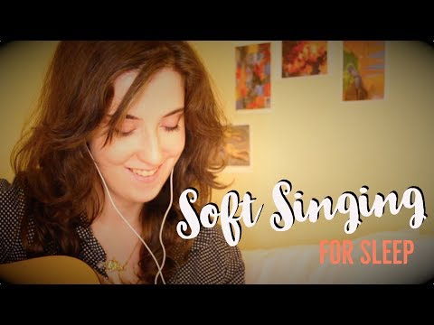 ASMR Soft Folky Humming + Strumming for Relaxation and Sleep