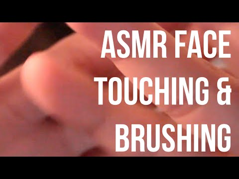 ASMR Relaxing Words & Sounds (Hand Movements & Face Brushing)
