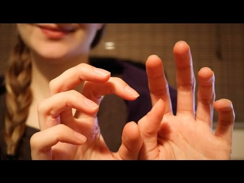 ASMR ♥ Fast, Rough Face/Camera Tapping (w/ Hand Movements)