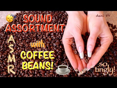 ☕️ Are you sleepy? 😴 NEW super intense ASMR with COFFEE BEANS! ☕️ ☾ It's a new TRIGGER for you? ☽