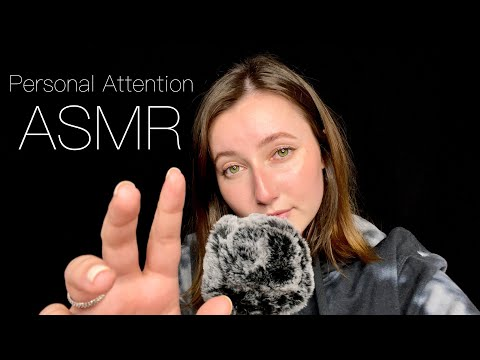 SUPER Up-Close Personal Attention Triggers on Your Face & Ears ✨ ASMR