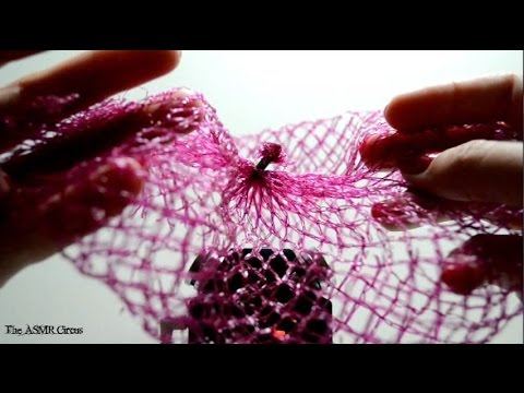 ASMR Your Head In A Fruit Net . Close Up Sounds & Visuals