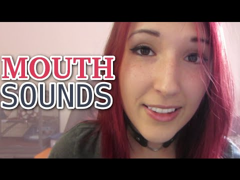 ASMR - MOUTH SOUNDS ~ Wet Sounds, SMILE SOUNDS, Eating Your Ears ~