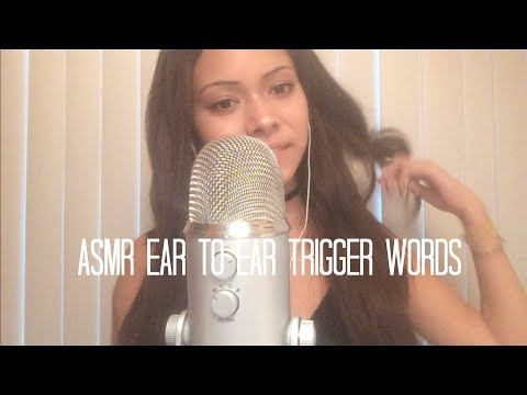 ASMR Repeating Trigger Words