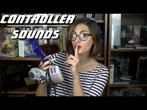 🎮Controller sounds ~ ASMR ~  Tapping ~ Pressing buttons ~ Almost no talking