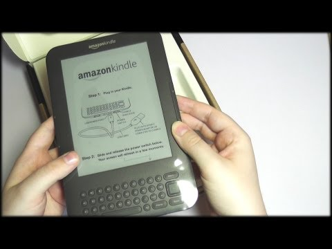 57. Silent Unboxing: Kindle - SOUNDsculptures (ASMR)