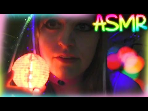 ASMR 【 Colorful Lanterns ░ Quick Tingle 】♡ Fairy Role Play, Glowing, Petting, Ear to Ear  ♡