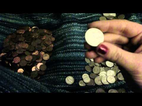 ASMR coin counting/whisper/writing (HD)