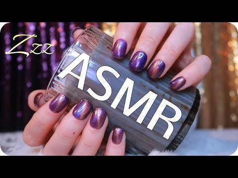 ASMR 30+ minutes of TEXTURED CANDLE JAR TAPPING for Sleep & Study (no talking) 🕯️