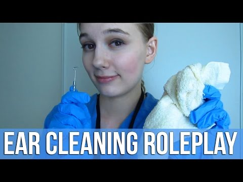 [BINAURAL ASMR] Ear Cleaning Roleplay (ear picking, fizzing, softly spoken, personal attention)