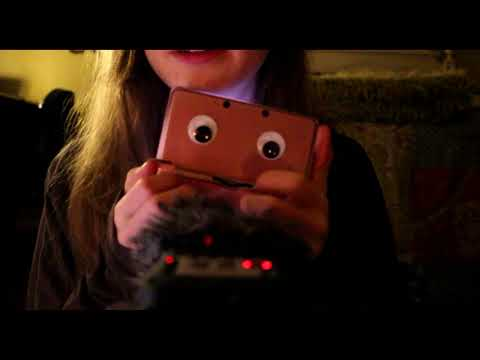 ~ ASMR ~ A 3DS Nostalgia Trip ~ Tapping and Soft Speaking ~