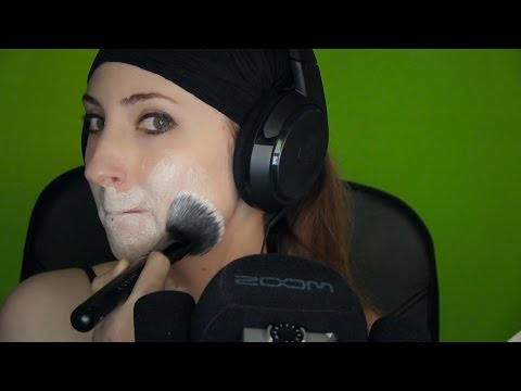 Triggers Out Of Context II: Skin brushing, box tapping, awm, mic brushing, shaving cream sounds