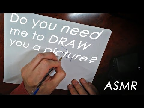 Do you need me to DRAW you a Picture? [ASMR Muzz]
