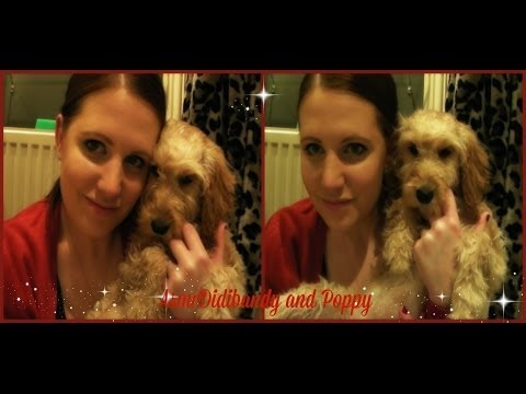 ASMR massage and grooming my dog