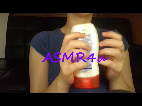 ASMR Mouth sounds Lotion sounds and Hands movements