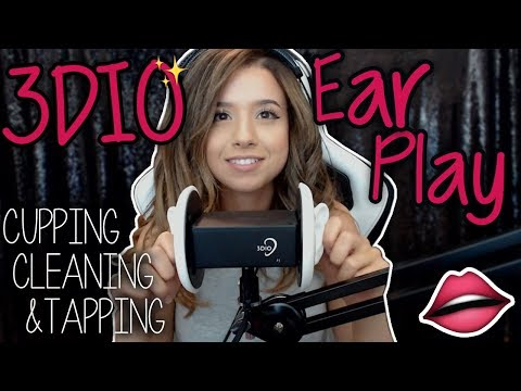 3DIO EAR PLAY ASMR :) Cupping, Cleaning, Tapping etc~