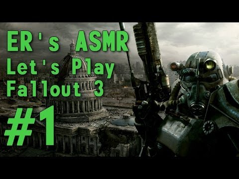 ASMR Let's Play Fallout 3 (PS3) #1 - Intro