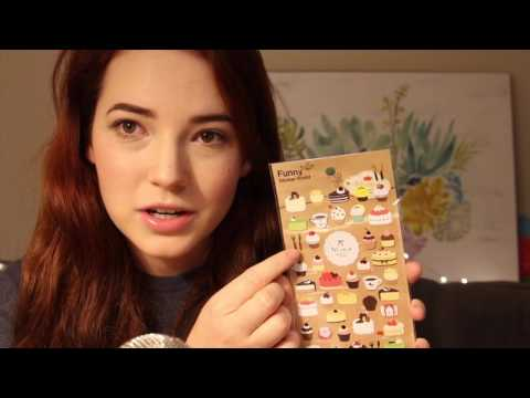 My Sticker Collection! Soft Spoken ASMR