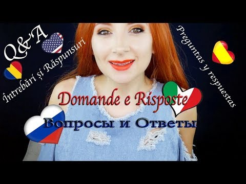 Q&A Ask Me Your Questions in English, Spanish, Russian, Romanian and Italian.