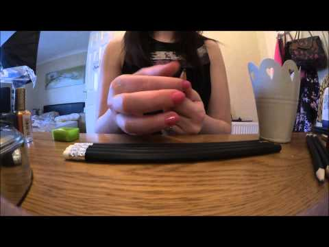 Asmr tingles playing with Pencils and Sharpening