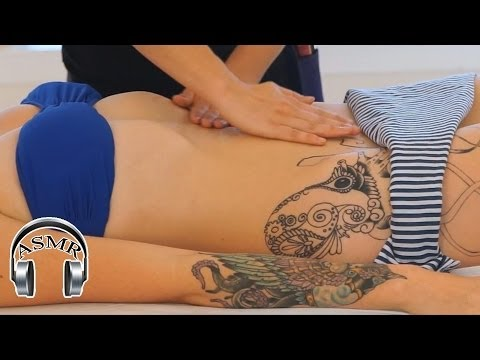 ASMR Tummy & Abs Massage, Christen #5, Relaxing Massage Therapy Techniques