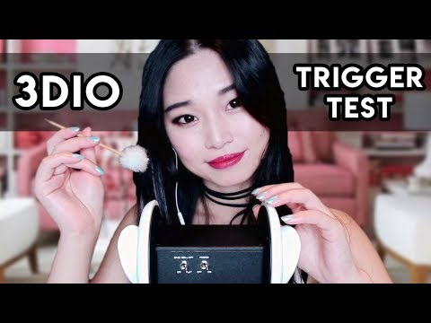 [ASMR] Testing TONS of TRIGGERS with my new 3DIO!