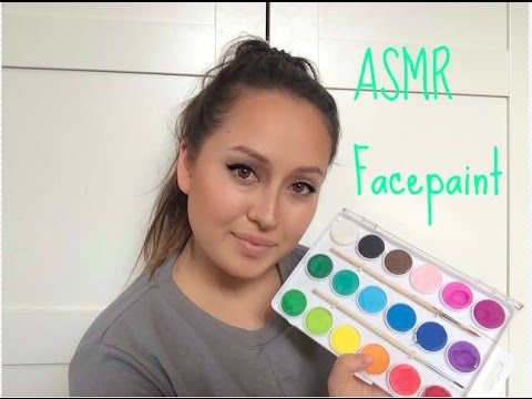 ASMR Face Paint Roleplay