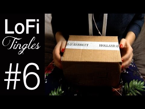Back II LoFi #6 Unboxing A Delivery - ASMR Heavy Tapping, Crinkling, Lids & Chatter