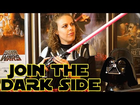 Join the Dark Side! ASMR Role Play Vader's Girlfriend - Sci Fi Recruiter