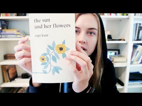 """Whispered Reading """"The Sun and Her Flowers"""" ASMR"""