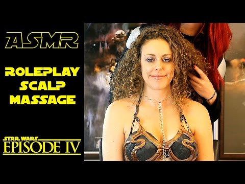ASMR Scalp Massage Roleplay Binaural Whisper Ear to Ear Star Wars Sci Fi Episode 4