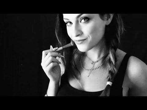 Inaudible ASMR With Face Touching and Brushing