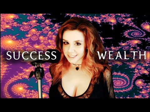 ASMR: Whispered Meditation for Wealth and Success (21 days to success)