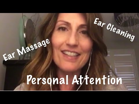 ASMR Personal Attention: Ear Cleaning|  Ear Brushing | Ear Massage Treatment for Relaxation