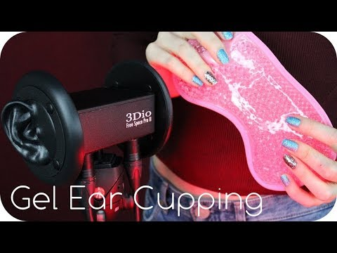 ASMR Gel Bead Ear Cupping, Tingly Tapping, Fabric Stroking, Delicate Sticky Sounds for Relaxation ✨