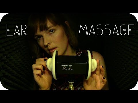 ASMR Ear Massage w/ Cupping | Blowing | Brushing | Ring Tapping (no talking)
