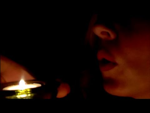 Camera Brushing By Candlelight - ASMR - *Lighting Matches*Close Up*Whisper*Brushes*Candles*Tapping*