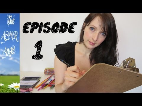 Art With Angel - ASMR Face / Portrait Sketching EP1