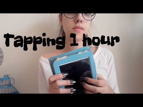 ASMR  1 Hour of Tapping Trigger NO TALK