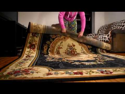 ASMR || White Noise - Cleaning My Living Room Rug (includes vacuum cleaner)