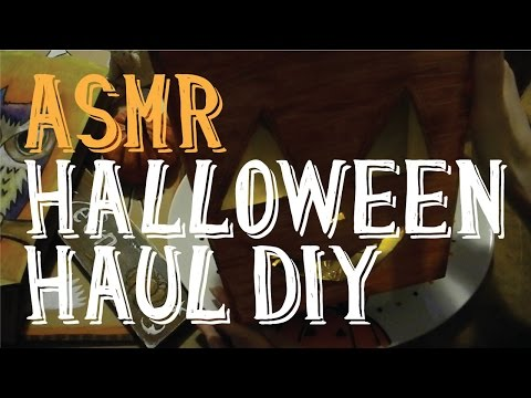 ASMR DIY Halloween Haul 2015 | Whispering | Female | LITTLE WATERMELON